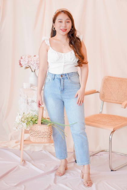 New Vintage High Waisted Jeans