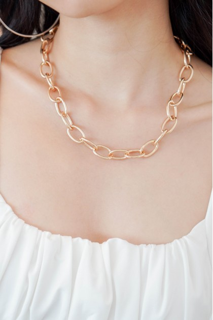 Chain Reaction Necklace