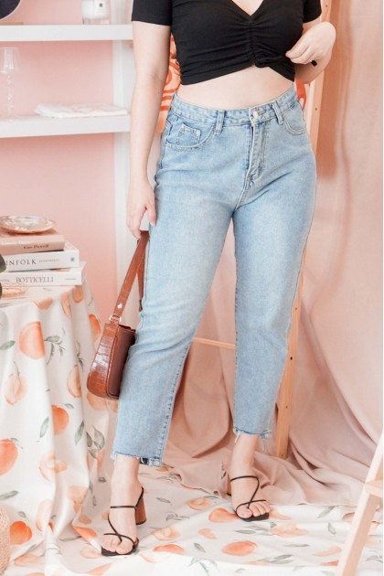 Up And About Jeans in Blue