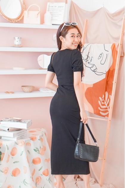 Sugar in The Making Dress in Black