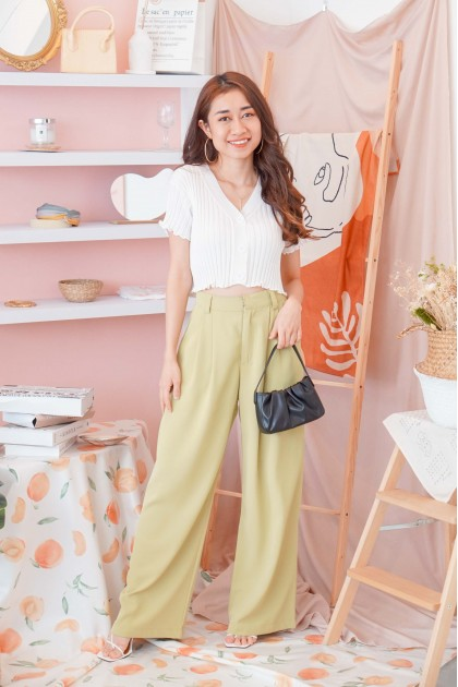Garden Skyline Pants in Green