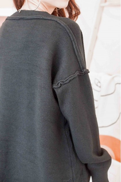 Comfort Zone Cardigan in Black