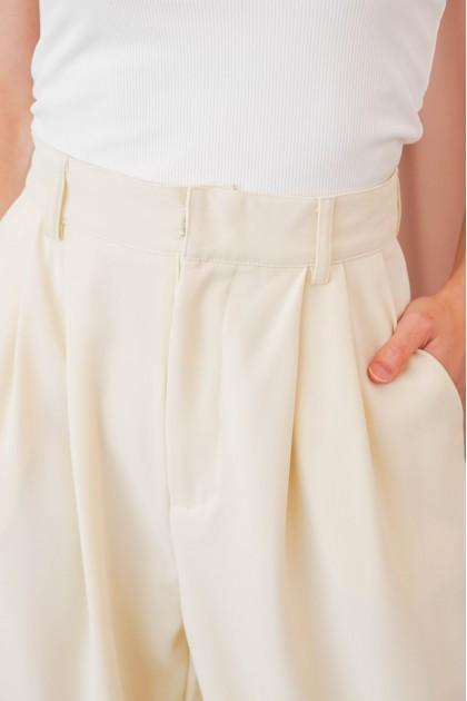C2 - Garden Skyline Pants in Cream