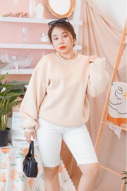 Soul Coffee Sweater in Nude