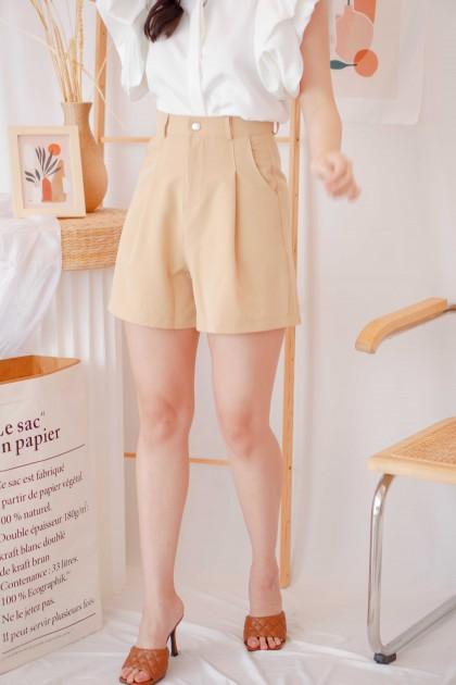 Lay Low Shorts in Khaki