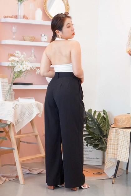 C2 - Garden Skyline Pants in Black