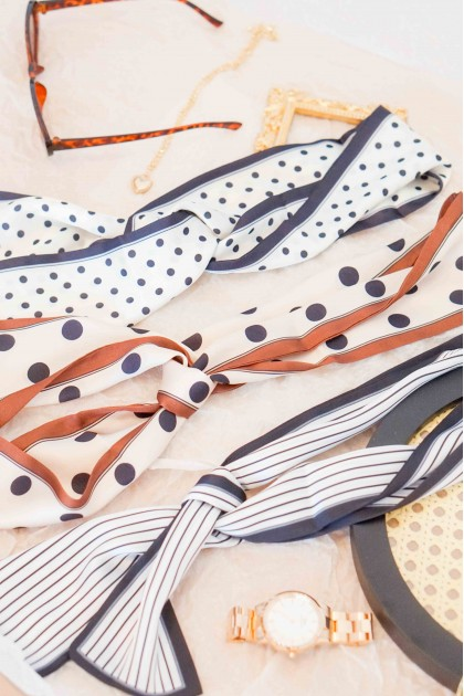 Printed Twilly Scarf