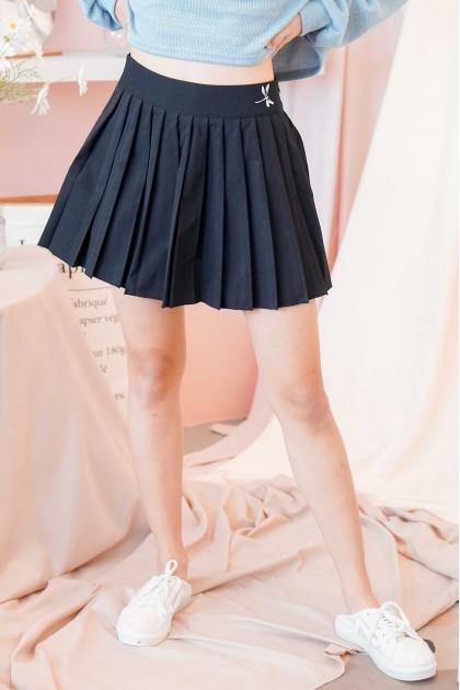 901 Girls Tennis Skirt in Black
