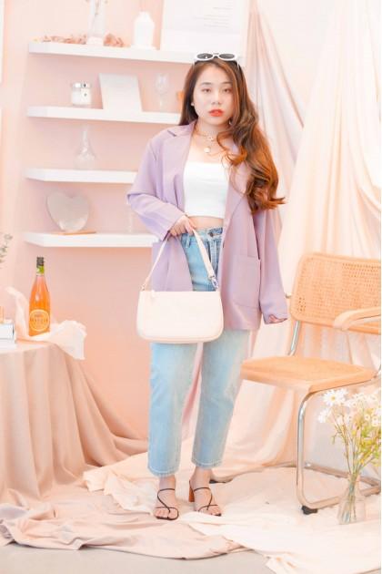 Cheri Blazer in Purple