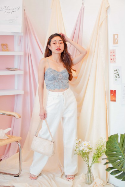 Chance At Love Lace Bralet