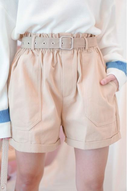 Better Off Wild Cargo Shorts in Brown