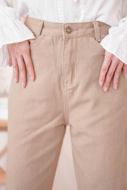 Milk Latte Jeans in Brown