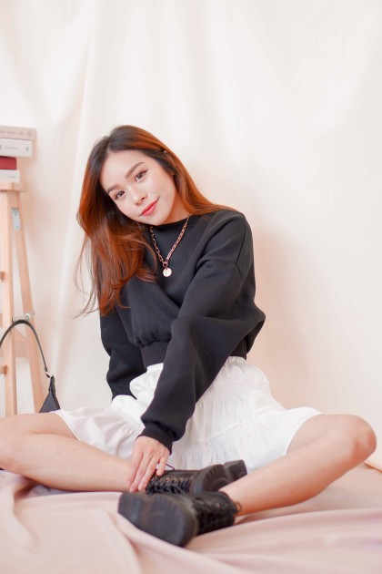 Coal Babe Sweater in Black