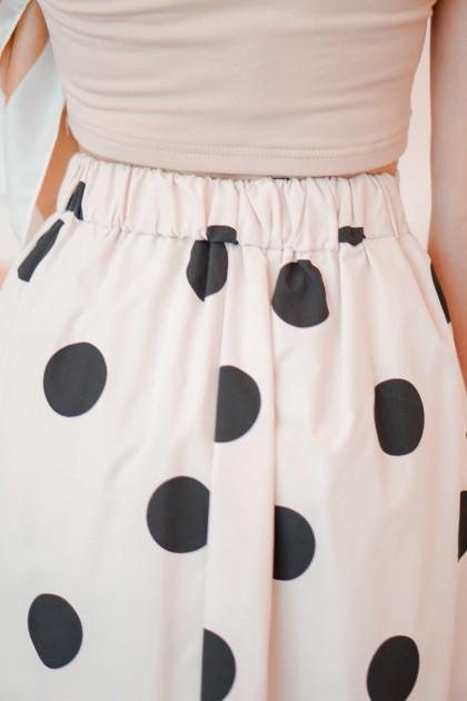 Heads Over Heel Polkadot Skirt