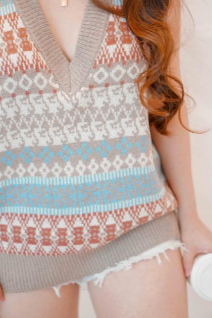 Gypsy Vibes Bohemian Knit Vest