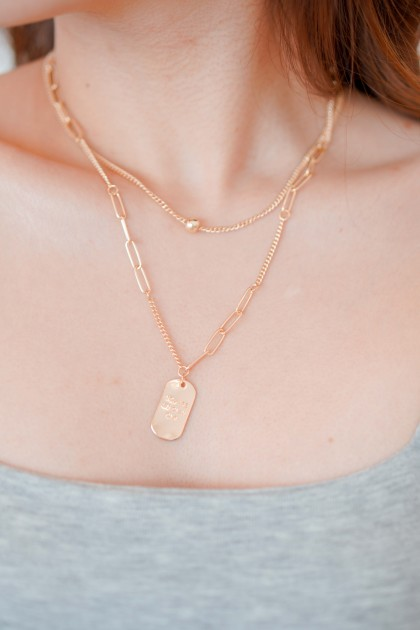 You Are My Only One Layered Necklace