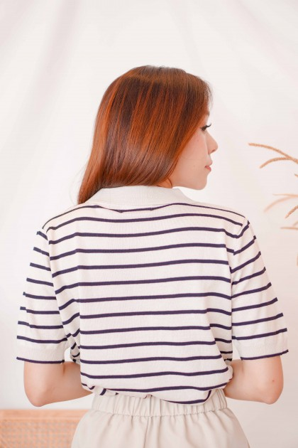 Love Story Stripes Knit Top