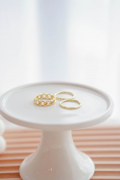 (BACKORDER) June Lover Ring Set