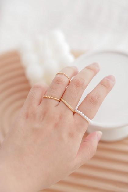 Wrapped Around Ring Set