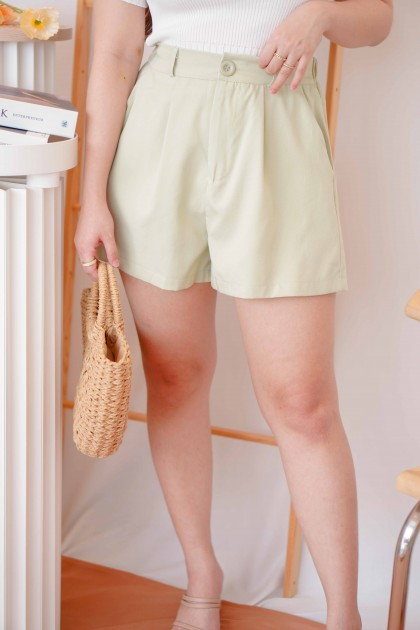 Lime Dream Shorts in Green
