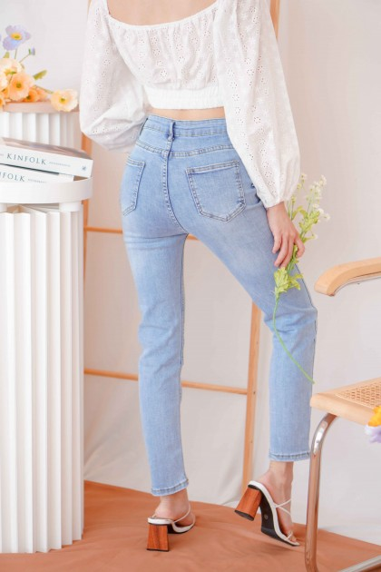 Casual Friday Skinny Jeans in Blue