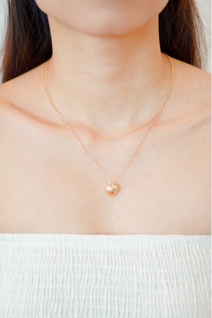 Love Sign Layered Necklace