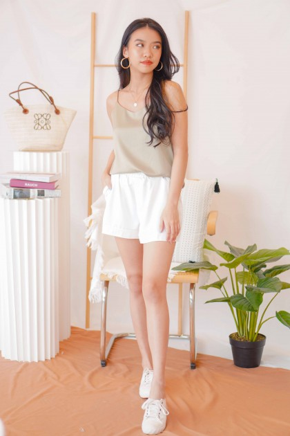 Peace Breeze Shorts in White