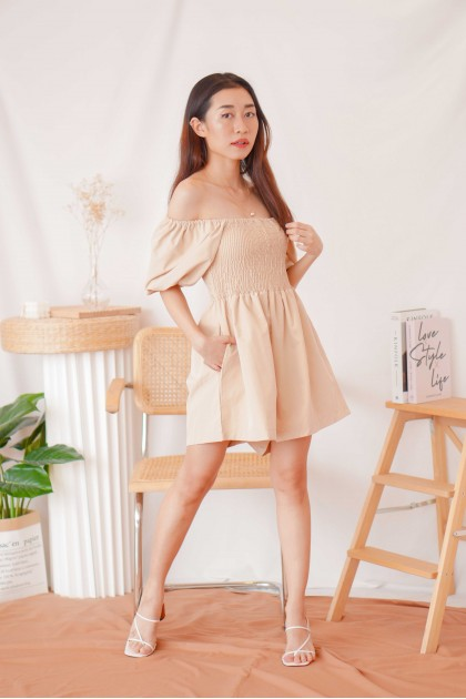 (BACKORDER) State of Nude Jumpsuit in Khaki