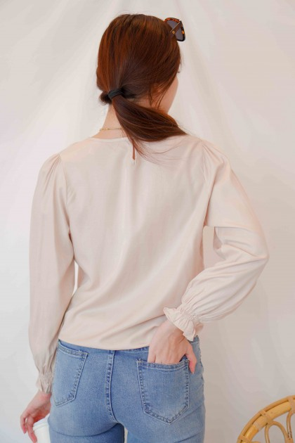 (BACKORDER) Fondest Moments Puffy Sleeves Top