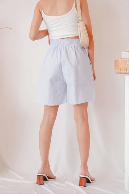Beach Town Midi Stripes Shorts