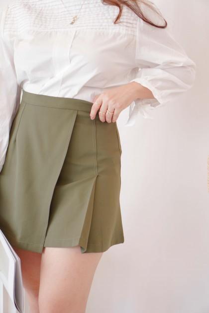South London Skirt in Dark Green