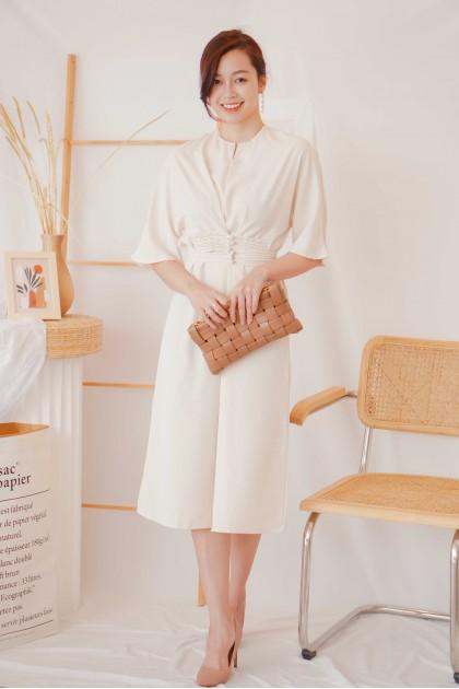 Divinity Dress in Cream