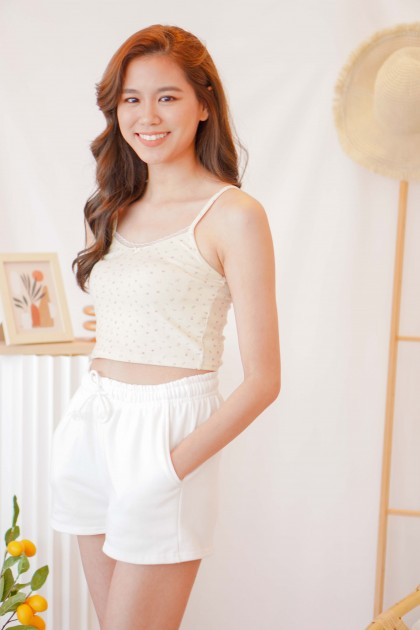 Softest Hopes Floral Camisole in Light Yellow