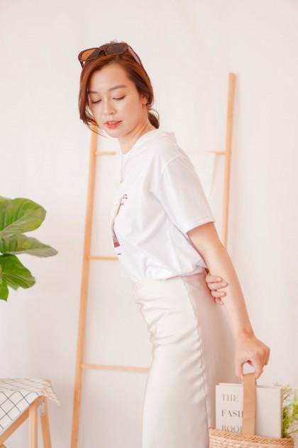 (BACKORDER) Imagination T-Shirt in White
